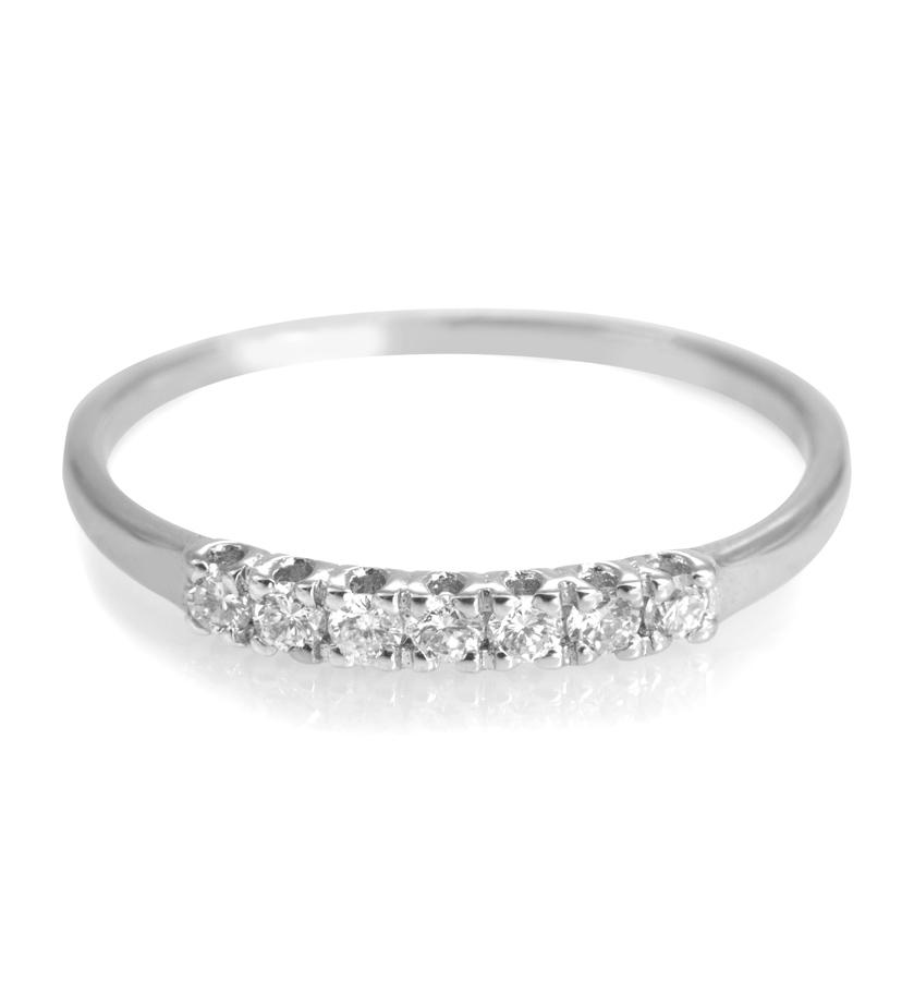 anello brillanti oro bianco - Peraldonnagioielli.it